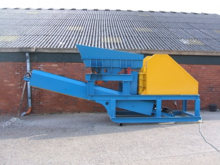 BRM 40-25 Skid Mounted Jaw Crusher (400 mm x 250 mm)